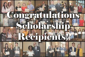 Congratulations Scholarship Recipients